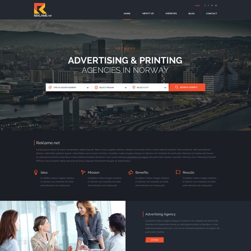 Reklame.net - Looking for Advertising and Printing agencies in Norway