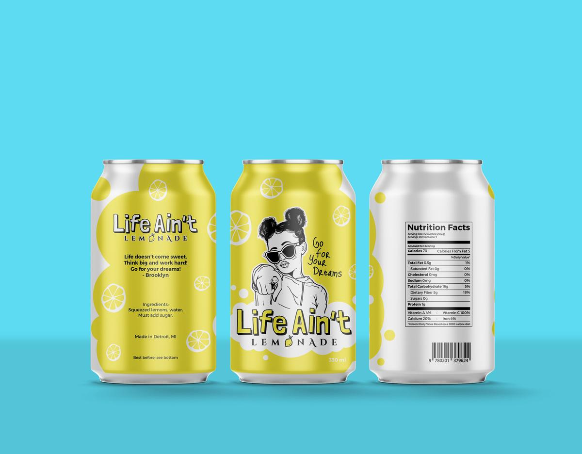 Life Aint Lemonade Packaging