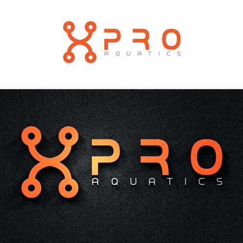 Bold Logo For Aquatic Clothing