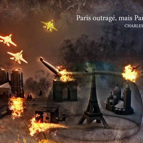 .. en hommage aux victimes des attentats de Paris ..