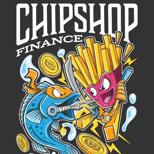 Ninja Fish VS Samurai Chips
