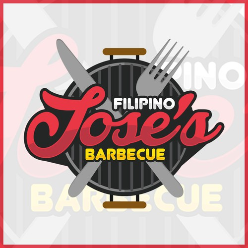 Jose's filipino barbecue logog