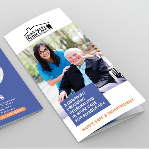 Brochure Design for Jewish Family Home Care