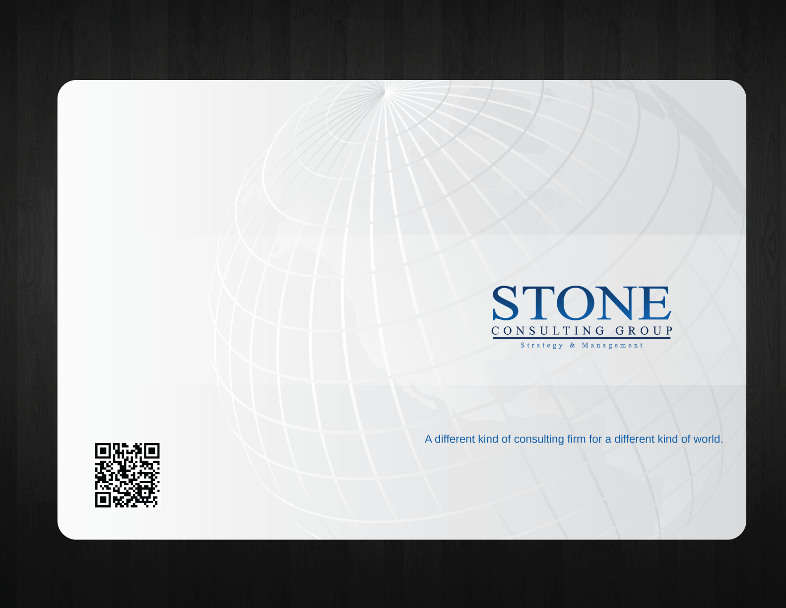 Help Stone Consulting Group with a new print or packaging design