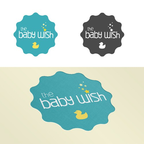 Logo for baby product company