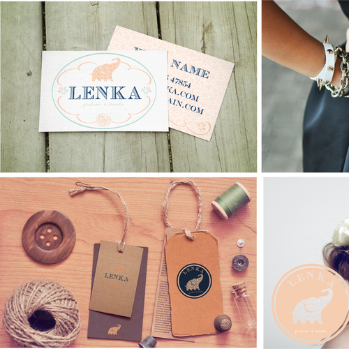 Create a young and catchy logo for Lenka! (A young and trendy accessories and gadgets webshop)