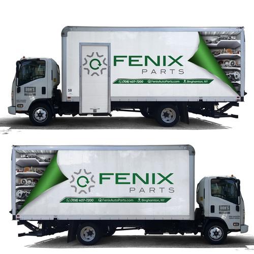 Delivery Truck Design - Automotive Parts
