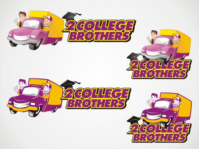 2 College Brothers [Moving Company] needs a logo