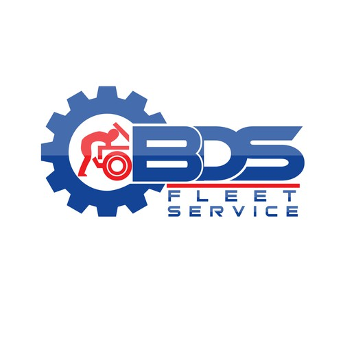 Logo design for a fleet servicing team