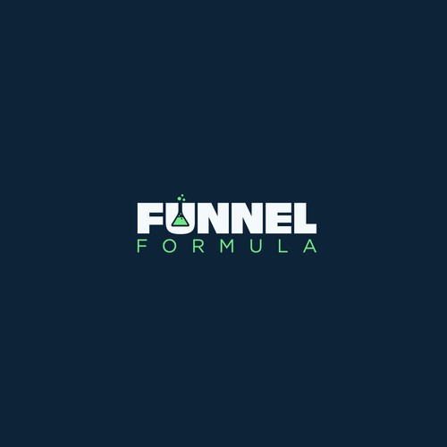 Bold logo concept for funnerl formula