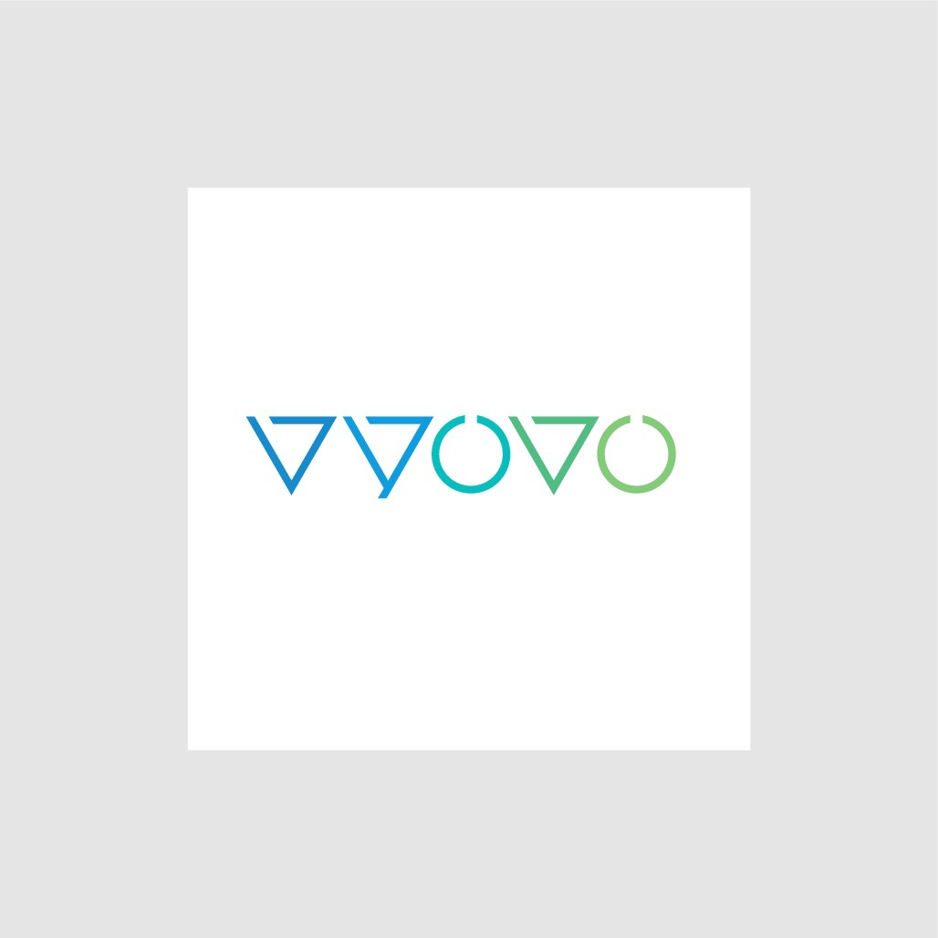 Design a stylish brand logo for a range of products by 'vyovo'