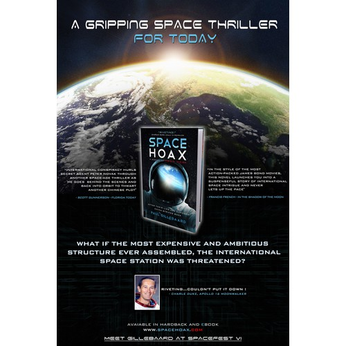 FULL PAGE AD FOR SPACE MAGAZINE