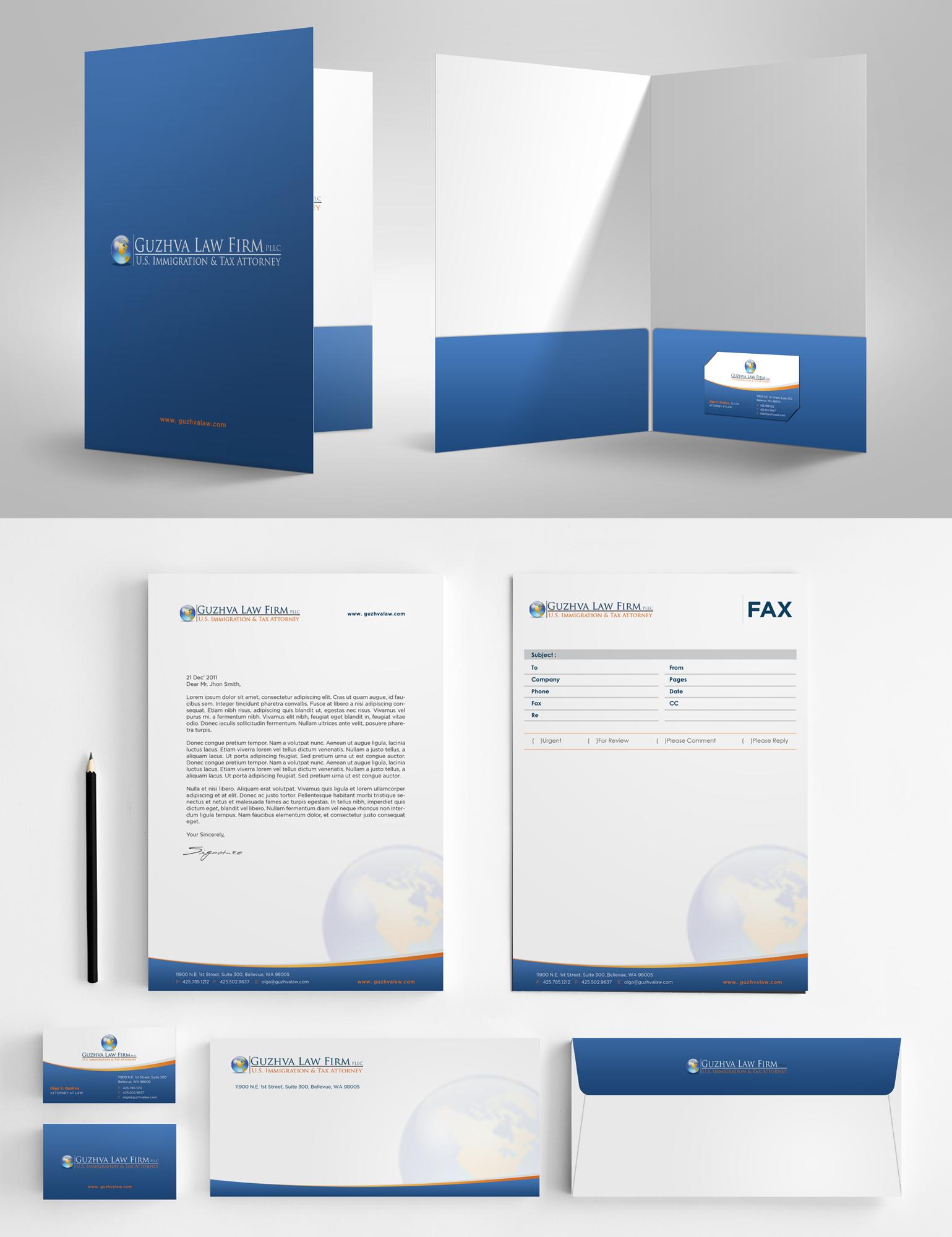 Show your originality- stationary design foran Attorney