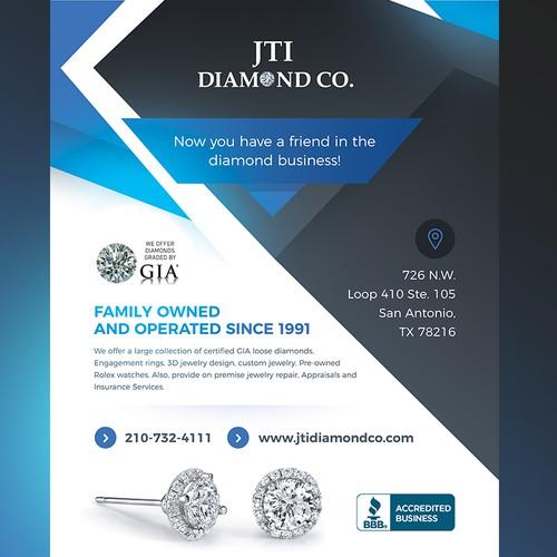 Jewelry store flyer / magazine advertising