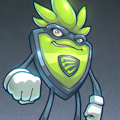'The Green Shield' Character