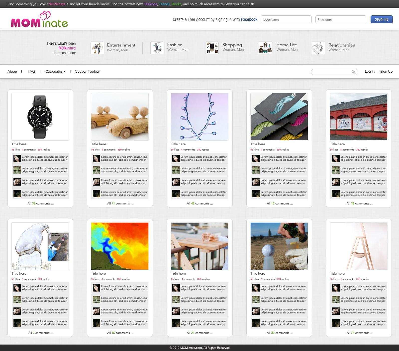 website design for CoMergent Group