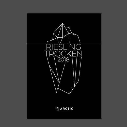 Label for Riesling wine