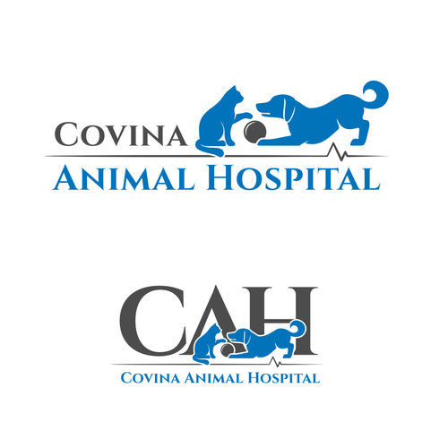 Re-create a logo for an Animal Hospital