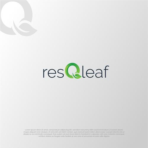 Logo for resQleaf