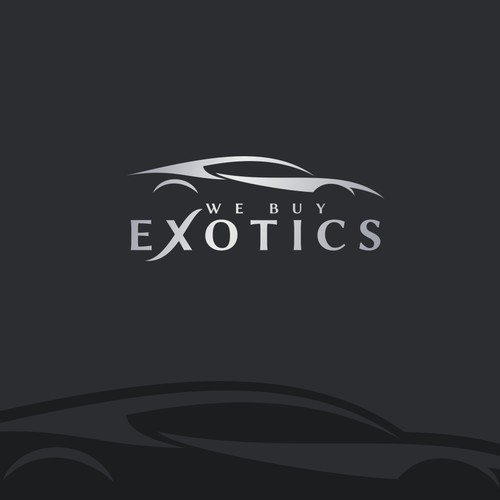 Logo design for We Buy Exotics