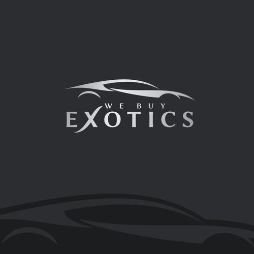 Logo design for We Buy Exotics