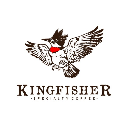 Logo Concept for Kingfisher - Specialty Coffee
