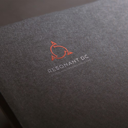 abstract logo for resonant effect