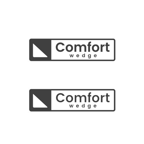 Won a simple logo design for Comfort Wedge