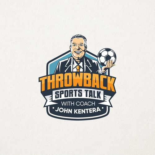 Throwback Sports Talk Logo
