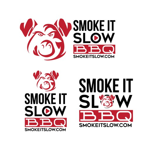 Smoke It Slow BBQ logo