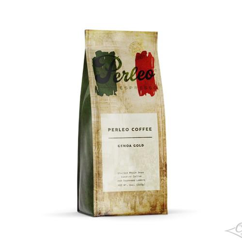 Perleom Coffee Packaging