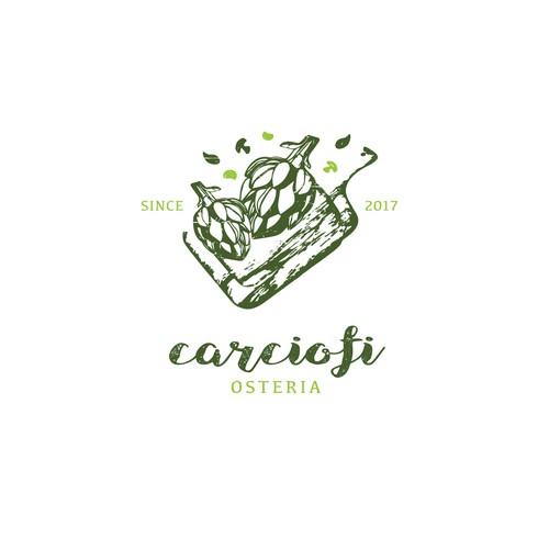 Organic Illustration Logo