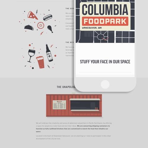 Squarespace Website Design for Restaurant Incubator