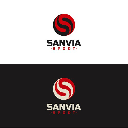 Bold logo for Sanvia Sport