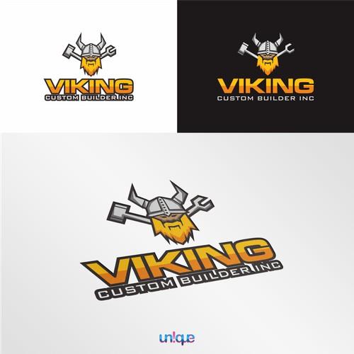 viking custom builder logo