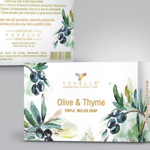 Outstanding & Unique Package Design for a Beauty Soap bar