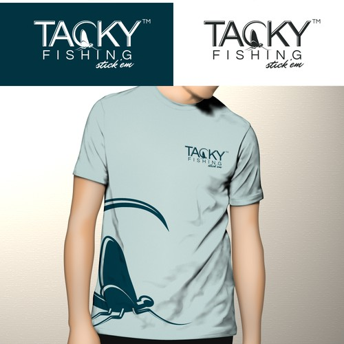 logo for Tacky Fishing