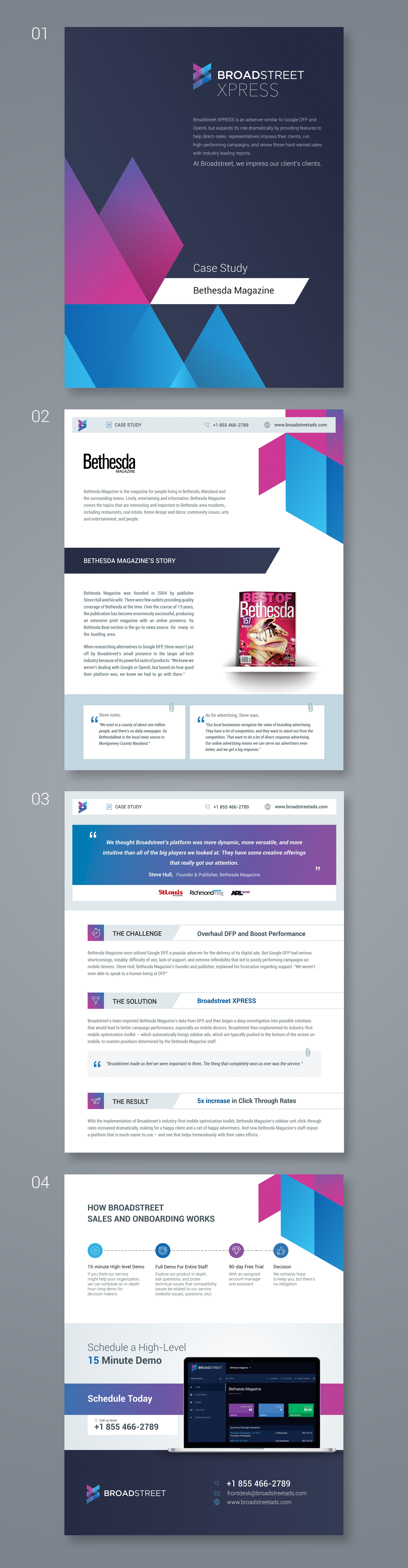 Design an Attractive Case Study Document