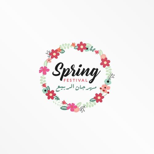 Spring Festival Logo