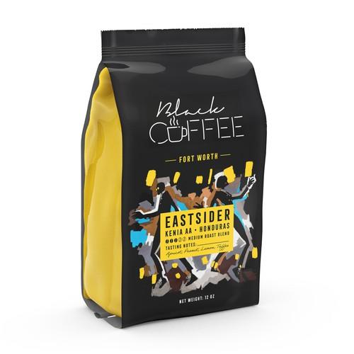 Coffee Bag Graphic Design
