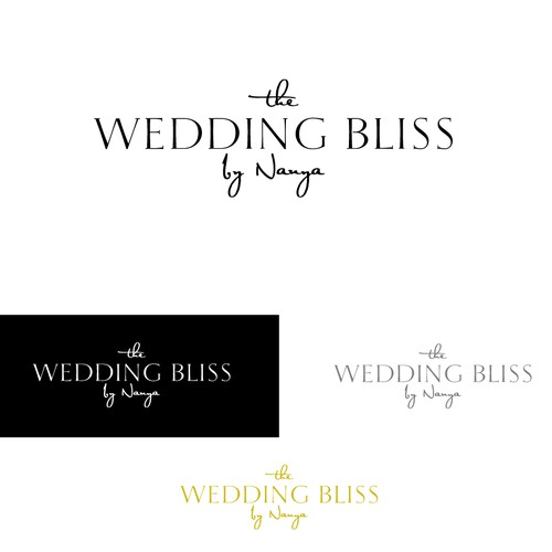 create a luxury logo for the destination wedding planning company