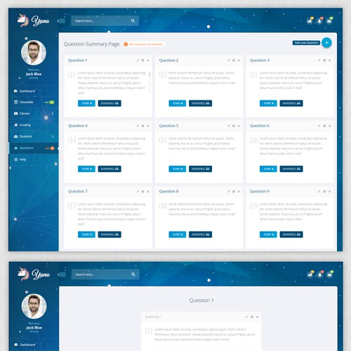 Application design for education company