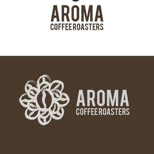logo for Aroma Coffee Roasters
