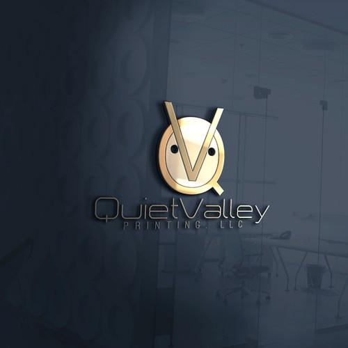 Contest logo Quiet Valley Printing
