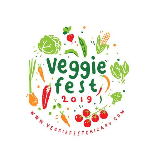 Veggie Fest T-shirt Design