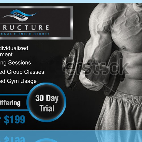 Postcard for Structure Personal Fitness Studio