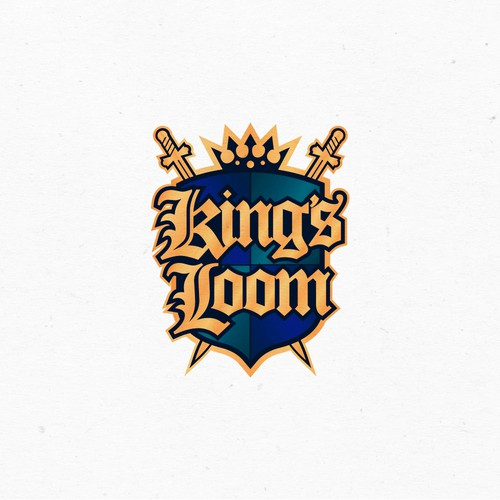 Concept logo or King's Loom