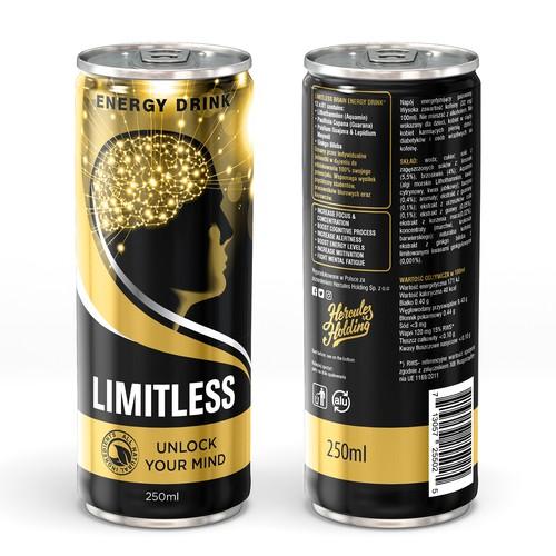 LIMITLESS FORMULA - Brain Energy Drink