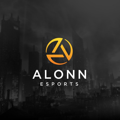 Alonn logo design