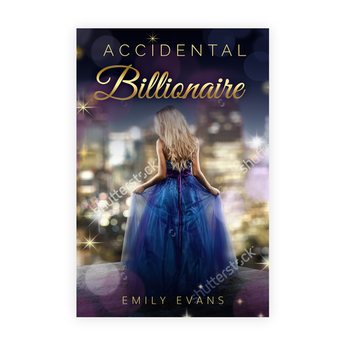 Book cover for Romantic Novel - Young Adults